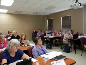 2013 July 24 - GPS class - Patti Hobbs - Nancy Thomas - Debra Hoffman