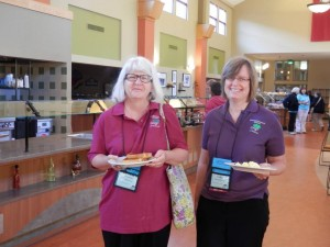 2013 July 25 - Noreen Manzella - Cathi Desmarais in GRIP shirts